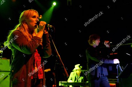Stock Photo of Isobel Campbell and Mark Lanegan