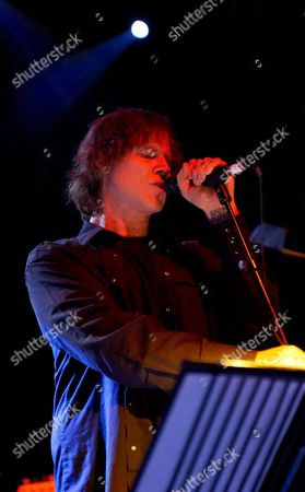 Editorial image of Isobel Campbell and Mark Lanegan in concert at Shepherds Bush Empire, London, Britain - 15 Feb 2011