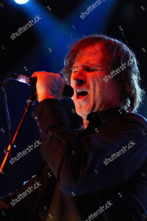 Editorial photo of Isobel Campbell and Mark Lanegan in concert at Shepherds Bush Empire, London, Britain - 15 Feb 2011