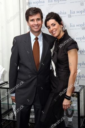Stock Image of Tory Kiam and Elena Kiam
