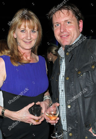 Stock Picture of Louise Goodman and James Martin
