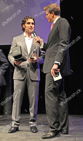Dario Franchitti and Jake Humphries