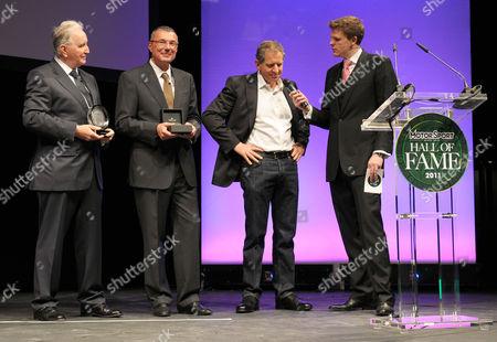 John Watson, Jean-Christophe Babin, Jody Scheckter and Jake Humphries