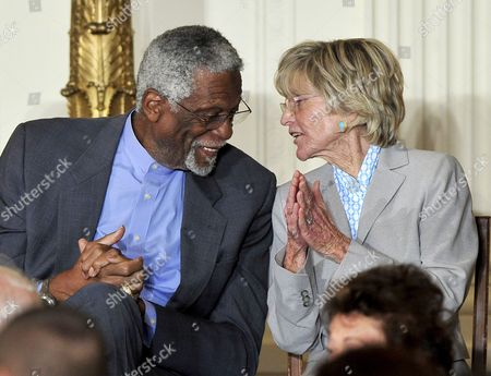 Bill Russell and Jean Kennedy Smith