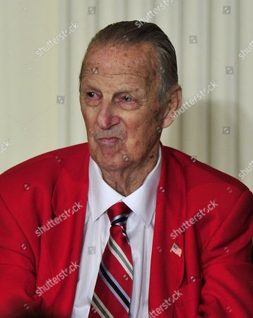 Stock Picture of Former St. Louis Cardinals' first baseman Stan Musial