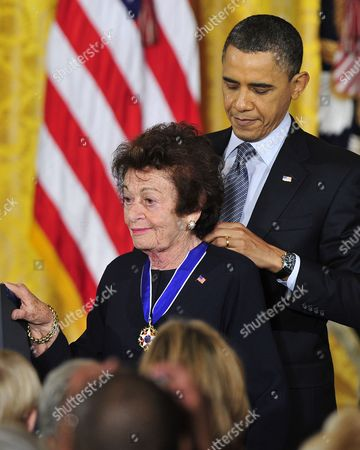 Editorial picture of 2010 Medal of Freedom Awards Ceremony, Washington D.C.,  America - 14 Feb 2011