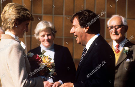 Princess Diana and Russell Harty