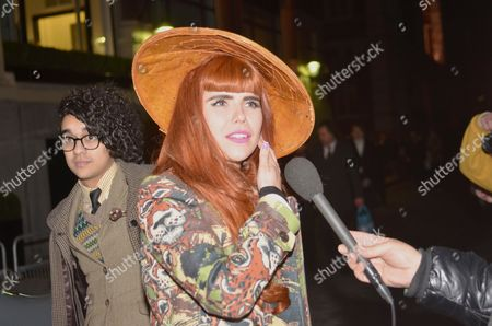 Stock Picture of Josh Weller and Paloma Faith