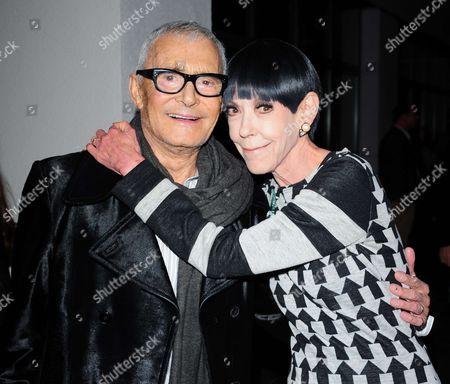 Vidal Sassoon and Peggy Moffitt
