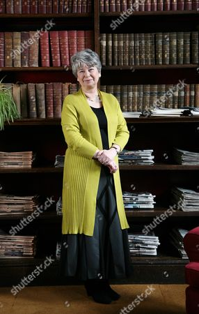 Stock Photo of Gaynor Arnold at The Birmingham Midland Institute, Birmingham, Britain