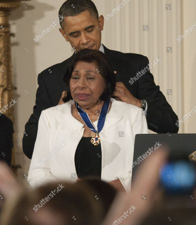 Editorial image of Medal of Freedom awards ceremony at the White House, Washington DC, America - 15 Feb 2011