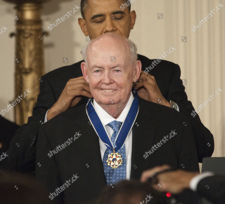 Editorial photo of Medal of Freedom awards ceremony at the White House, Washington DC, America - 15 Feb 2011