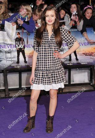 Editorial photo of 'Justin Bieber: Never Say Never' film premiere, London, Britain - 16 Feb 2011