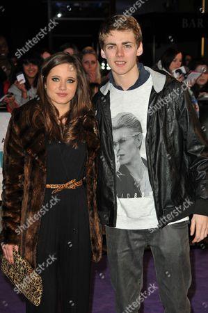 Stock Photo of Madeline Duggan and Thomas Law