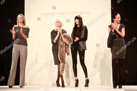 Frederique Van Der Wal, Carmen, Irina Pantaeva and Pat Cleveland