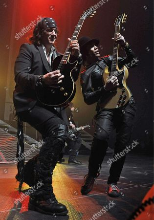 Buckcherry - Guitarists, Keith Nelson and Stevie D