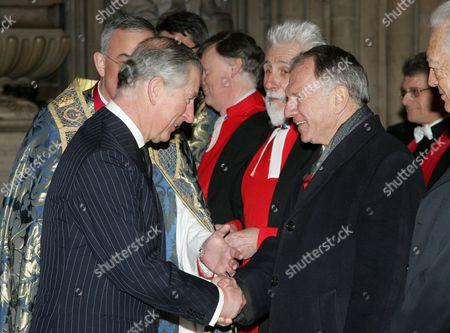 Prince Charles meets H.E. Mr John Dauth, LVO High Commissioner for Australia