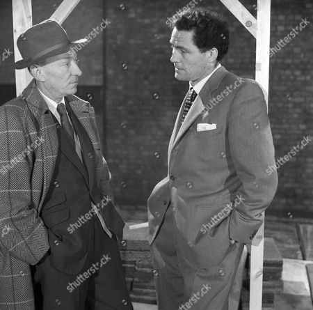 William Hartnell and Robert Shaw