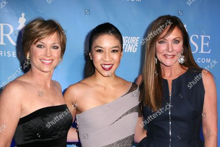 Dorothy Hamill, Michelle Kwan, Peggy Fleming