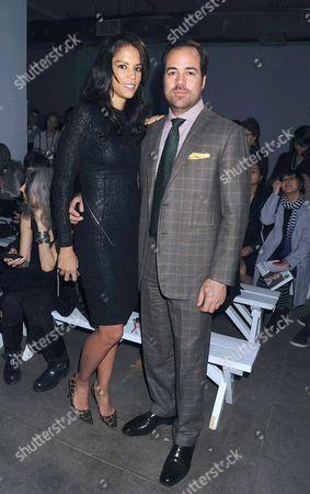 Veronica Webb and Chris Del Gatto