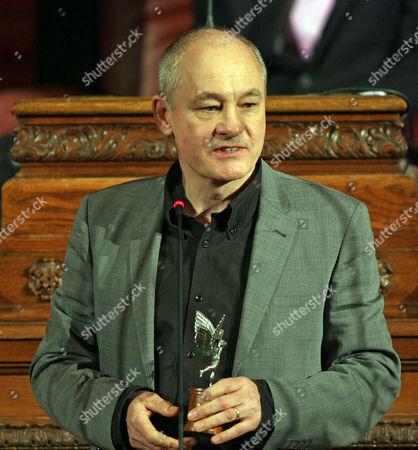 Stock Photo of Barry Ackroyd Best Achievement Cinematographer Evening Standard Film Awards 2010