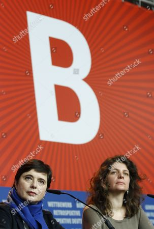 Isabella Rossellini and Julie Gavras