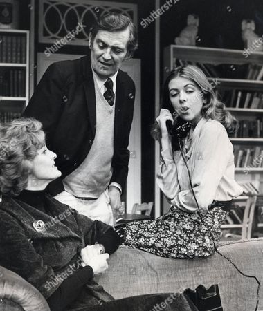 Play: The Reluctant Debutante Pictured: Elspeth Gray (l) Gerald Flood And Lady Marsha Fitzalan (r)