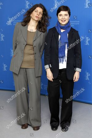 Isabella Rossellini and French director Julie Gavras