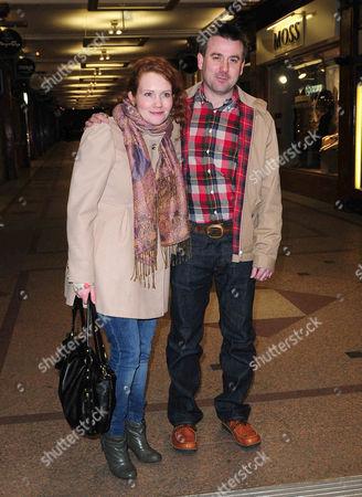 Jennie McAlpine and Graham Hawley.