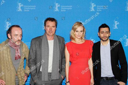 Karl Markovics, Sebastian Koch, Diane Kruger and director Jaume Collet-Serra