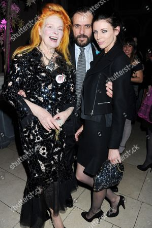 Vivienne Westwood, Andreas Kronthaler and Liberty Ross
