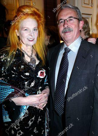 Vivienne Westwood with John Stark of the Palladium Alliance
