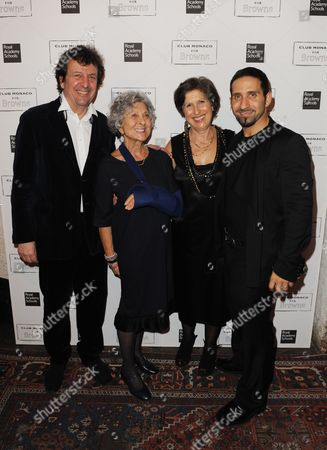 Simon Burstein, Mrs B Browns aka Joan Burstein, Caroline Burstein and Joseph Koniak