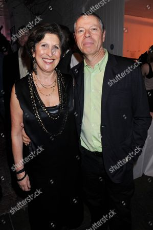 Caroline Burstein and husband