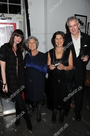 Lauren Gurvich, Mrs B Browns aka Joan Burstein, Caroline Burstein and Jeremy King