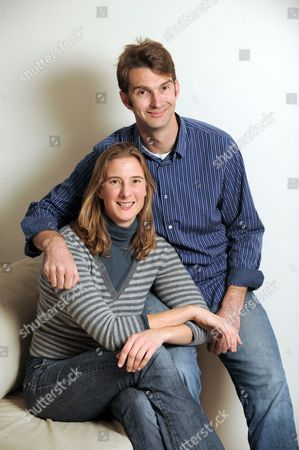 Stock Picture of Sarah Winckless and brother Charlie Winckless