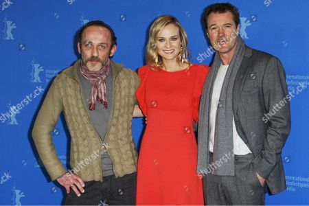 Karl Markovics, Sebastian Koch (R) and Diane Kruger