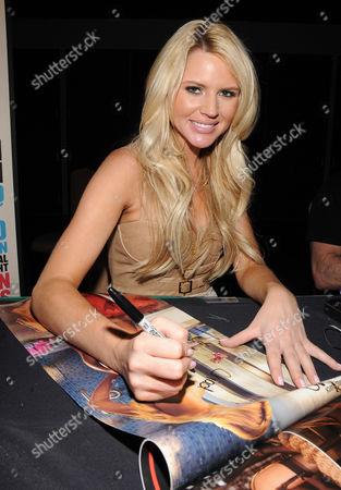 Stock Photo of Playboy Playmate Mss March 2011 Ashley Mattingly