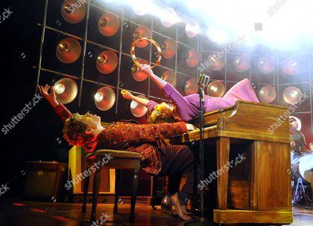 'Million Dollar Quartet' - Ben Goddard (Jerry Lee Lewis) and Francesca Jackson (Dyanne)
