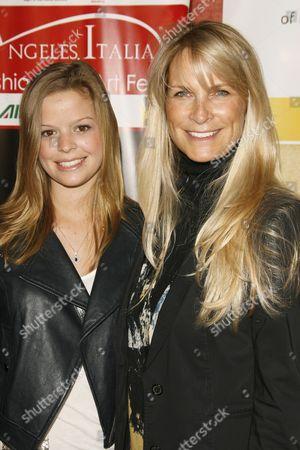 Stock Picture of Dina De Laurentiis ; Martha DeLaurentiis