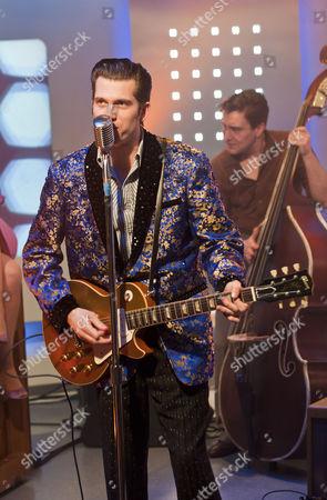 Stock Image of 'Million Dollar Quartet' - Robert Britton Lyons (Carl Perkins)