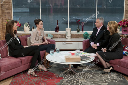 Stock Picture of Lucy Clarkson and Sian Selby with Eamonn Holmes and Ruth Langsford.