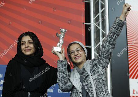 Sareh Bayat and Sarina Farhadi