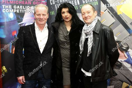 Stock Picture of Peter Mullan, Robina Qureshi and David Hayman