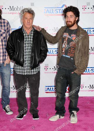 Dustin Hoffman and Max Hoffman