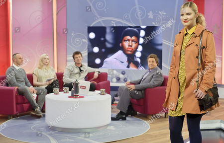 Editorial photo of 'Lorraine Live' TV Programme, London, Britain - 23 Feb 2011