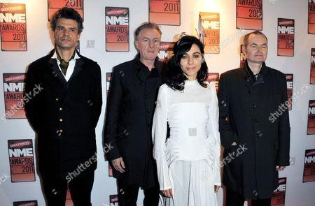 Editorial photo of 2011 Shockwaves NME Awards, Brixton Academy, London, Britain - 23 Feb 2011