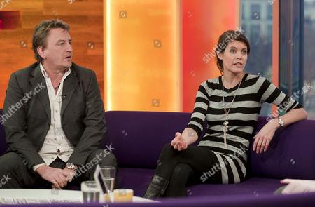 Piers Hernu and Liz Fraser