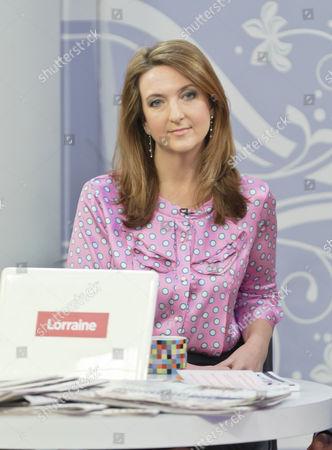 Editorial picture of 'Lorraine Live' TV Programme, London, Britain. - 24 Feb 2011