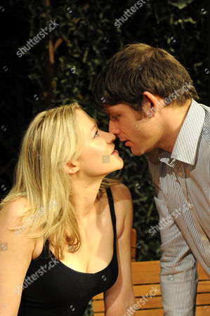Siobhan Hewlett as Gale and Chris Coghill as Charlie Conrad